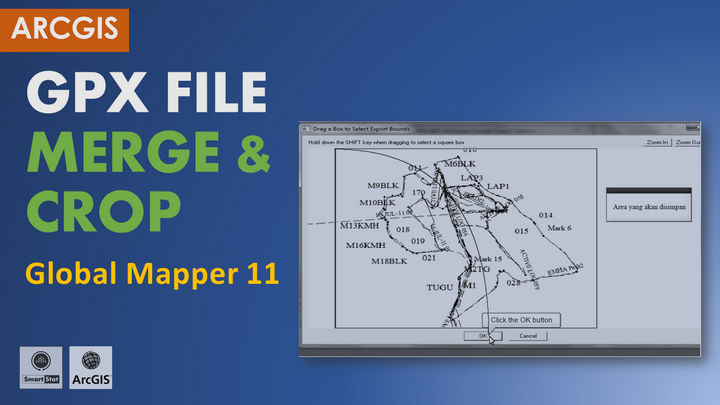 Tutorial GIS: Merge-Crop File GPX