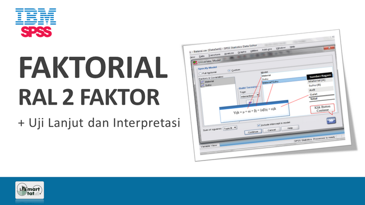 Tutorial SPSS: RAL Faktorial