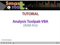 Tutorial Excel Cara mengaktifkan AddIns Analysis Toolpak